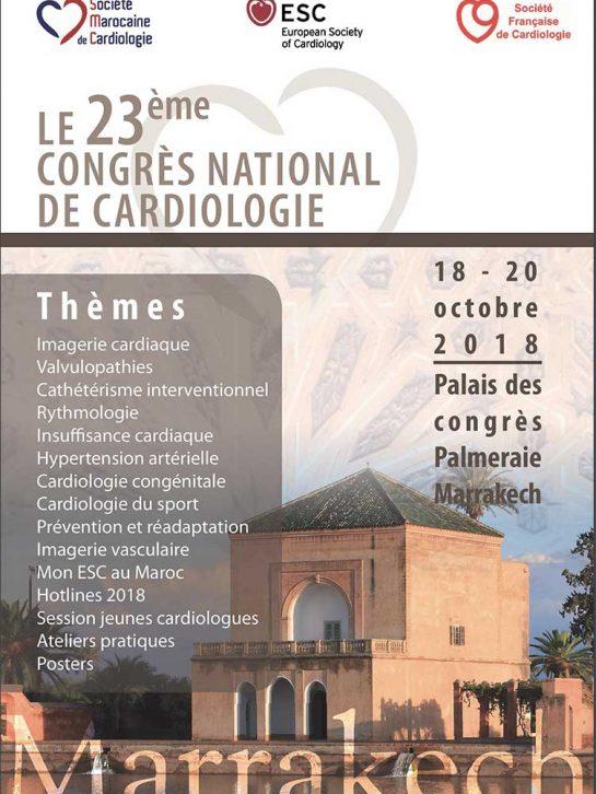 23ème Congrès National de Cardiologie