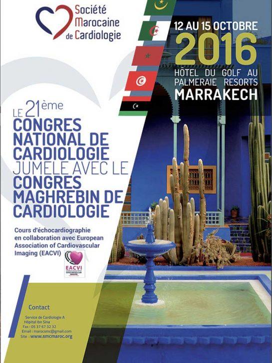 21ème Congrès National jumelé avec le 19ème congrès Maghrebin de Cardiologie