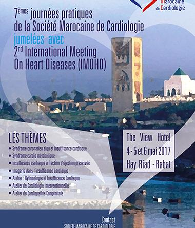 7ème édition des ateliers pratiques de la Société Marocaine de Cardiologie jumelées avec 2nd International Meeting On Heart Diseases