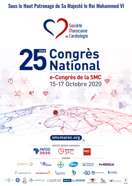25ème E-Congrès National de Cardiologie