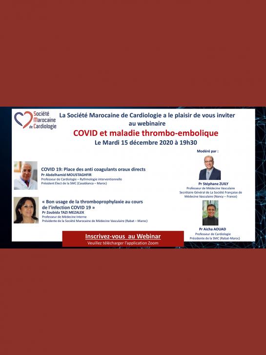 COVID et maladie thrombo-embolique