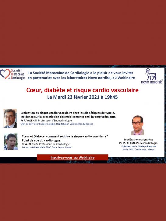 Cœur, diabète et risque cardio vasculaire  Exemplaire